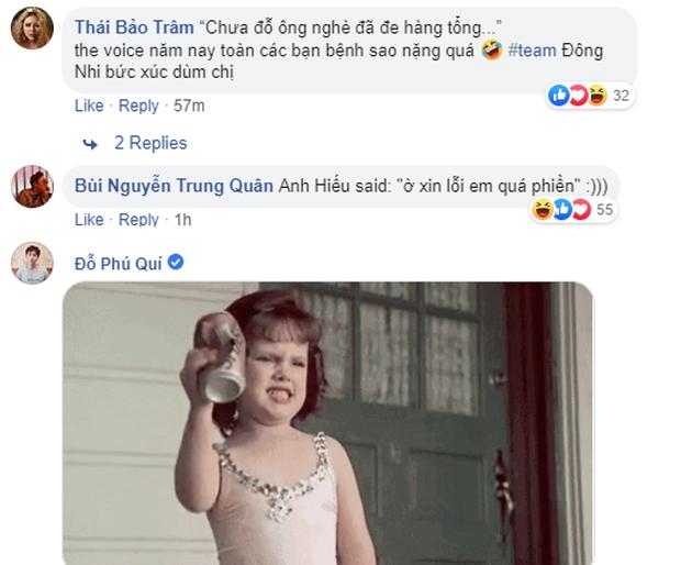"""Thí sinh Giọng hát Việt """"đụng chạm"""" Đông Nhi: Đỗ Hiếu đáp trả sâu cay, Tùng Leo gay gắt lên án - Ảnh 5."""
