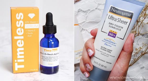 """5 bộ đôi serum vitamin C và kem chống nắng bình dân mà bạn có thể dễ dàng tìm mua để có làn da đẹp """"thần thánh"""" - Ảnh 5."""