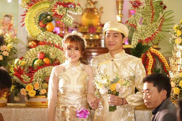 Mai Quỳnh Anh bị soi vòng 2 to bất thường trong đám cưới - Ảnh 1.