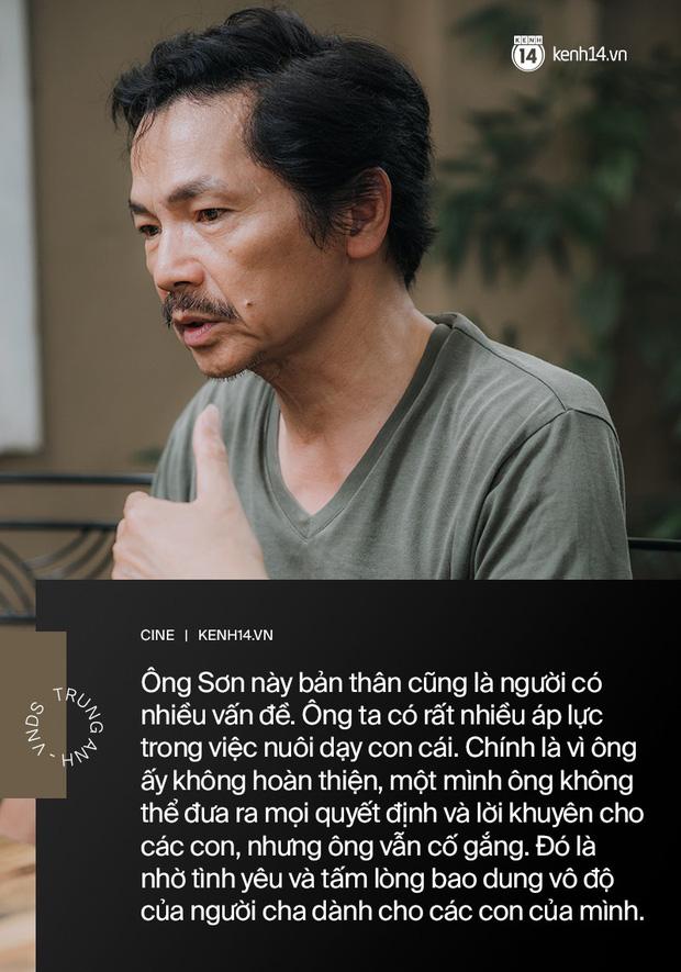 Gặp Ông bố quốc dân - NSƯT Trung Anh nhân Ngày Của Cha: Thật lòng tôi thương Huệ nhất nhà! - Ảnh 8.