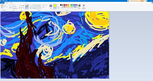 Họa sỹ vẽ tranh bằng Paint đỉnh như Photoshop, ai ngờ dân mạng thi nhau khoe hàng xịn không kém - Ảnh 5.