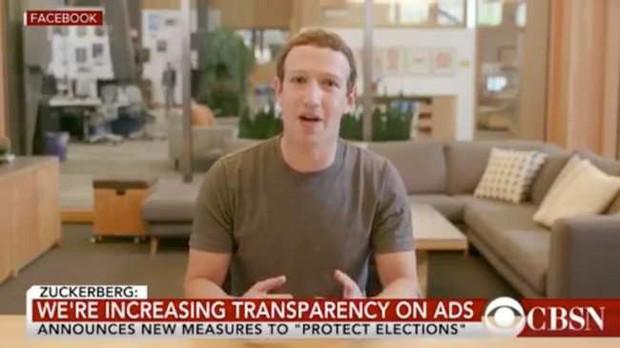 Drama nhà Facebook: Thả lỏng video giả mạo Mark Zuckerberg, lại còn bảo đang làm đúng luật? - Ảnh 1.