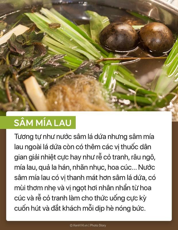 Những thức uống này nghe thì lạ lẫm với người Hà Nội, chứ ở Sài Gòn mùa hè năm nào cũng bán khắp mọi nẻo đường - Ảnh 7.