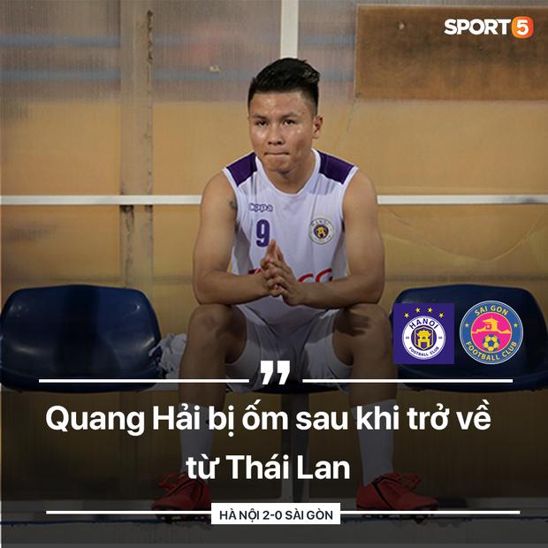 HLV Hà Nội FC tiết lộ Quang Hải bị ốm và quá tải sau King's Cup 2019 - Ảnh 1.