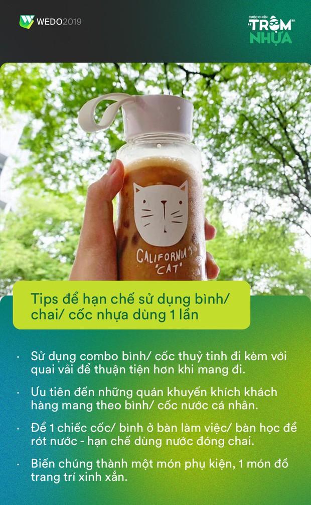 Những siêu sao Trộm Nhựa siêng năng dùng túi vải và nói không với cốc nhựa: Đừng để một chữ tiện giết chết môi trường! - Ảnh 6.