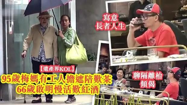 Bòn rút tiền của con gái đã mất, mẹ già 95 tuổi và anh trai diva Mai Diễm Phương ăn không ngồi rồi, sống vương giả - Ảnh 8.