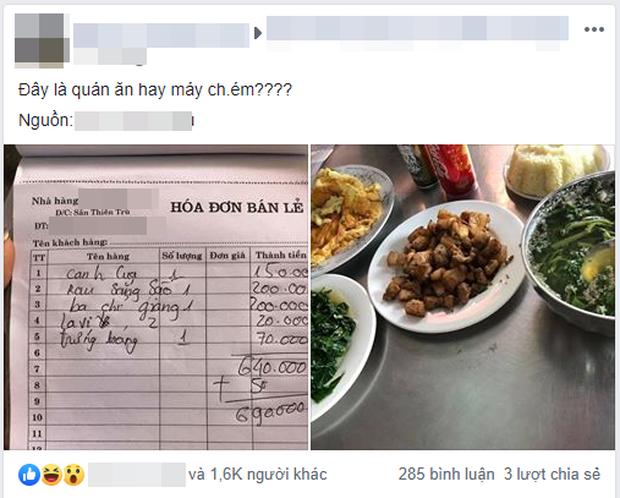 Tố nhà hàng chém đẹp bát canh cua 150k, đĩa trứng 70k, chàng trai bị dân mạng bóc mẽ vì loạt điểm vô lý - Ảnh 1.