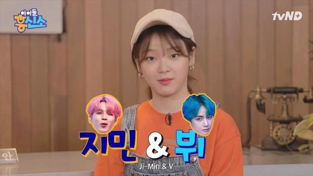 Nữ idol bỗng thành tâm điểm vì tiết lộ con người thật của 2 mỹ nam Jimin và V hot nhất BTS hồi trung học - Ảnh 1.