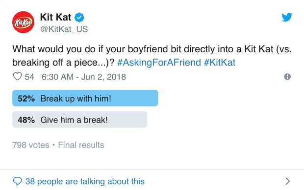 Ăn Kit Kat kiểu nổi loạn, thanh niên bị dân mạng ném đá và đề nghị bạn gái chia tay - Ảnh 5.