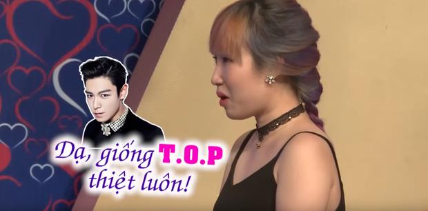Netizen náo loạn với anh chàng giống T.O.P (Big Bang), khác mỗi... cái mặt tại Bạn muốn hẹn hò - Ảnh 4.