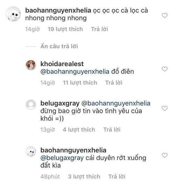 Mới công khai đã bị nhắc khéo Đừng tin vào tình yêu của Khói, bạn gái rapper liền đáp lại cực gắt - Ảnh 5.
