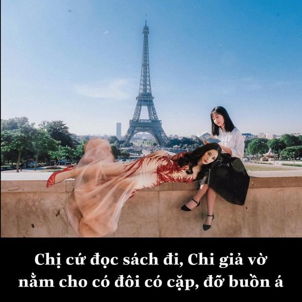 """Biết chị nhà thích đi du lịch, """"fanti"""" cho Chi Pu đi vòng quanh thế giới nhân dịp sinh nhật với... đúng 1 bộ đồ - Ảnh 8."""