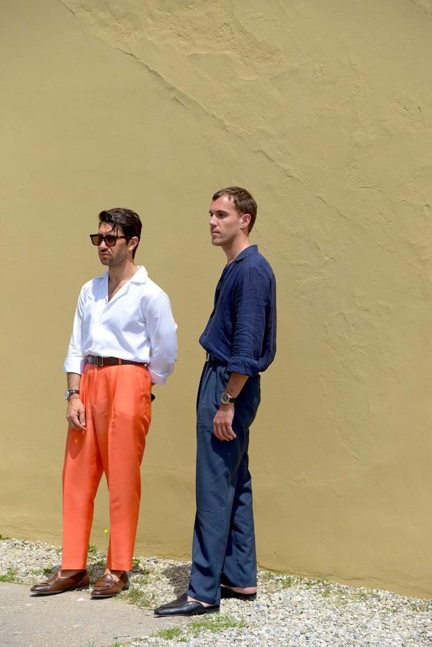 Màu mè và mát mẻ, phải chăng hình tượng những nam nhân mặc suit bảnh bao ở Pitti Uomo đã chết rồi? - Ảnh 10.
