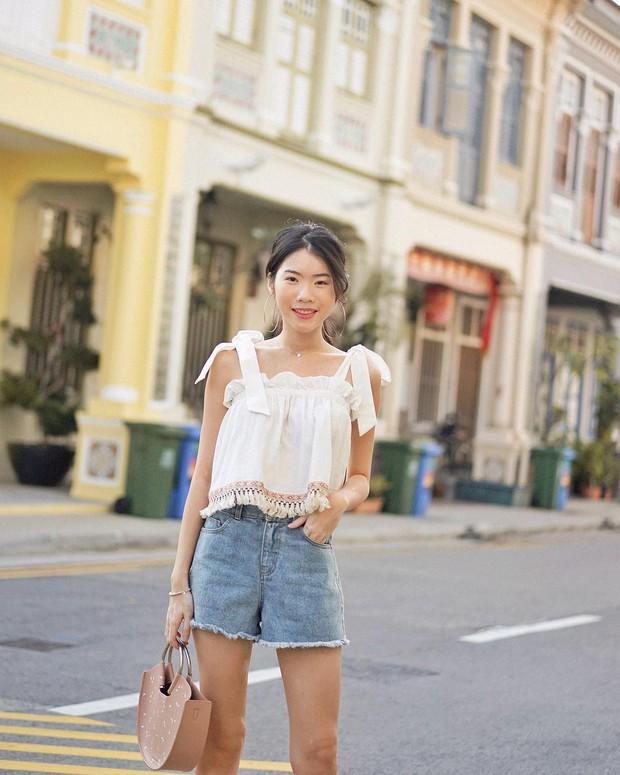 Diện quần jeans vào mùa hè: Sẽ rất đẹp mà không sợ nóng nếu bạn chọn 4 kiểu dáng này - Ảnh 14.