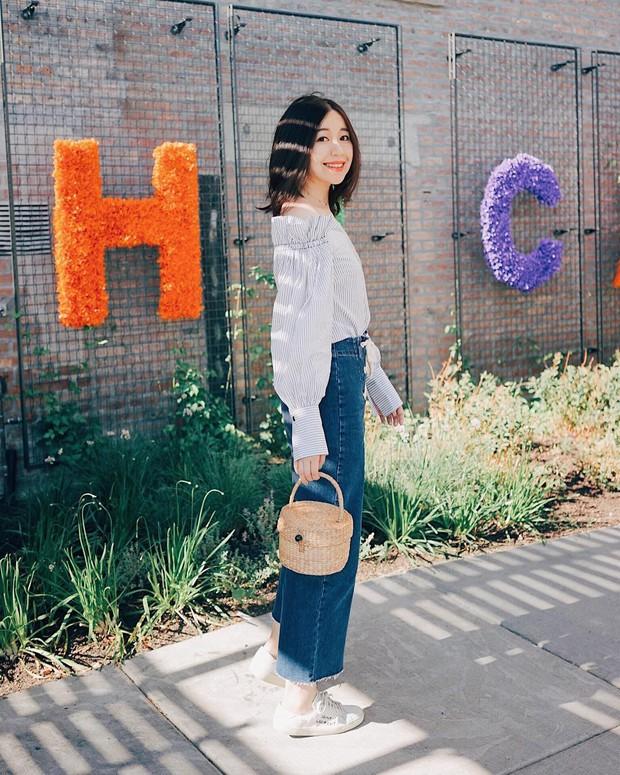 Diện quần jeans vào mùa hè: Sẽ rất đẹp mà không sợ nóng nếu bạn chọn 4 kiểu dáng này - Ảnh 5.
