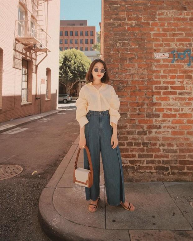 Diện quần jeans vào mùa hè: Sẽ rất đẹp mà không sợ nóng nếu bạn chọn 4 kiểu dáng này - Ảnh 8.