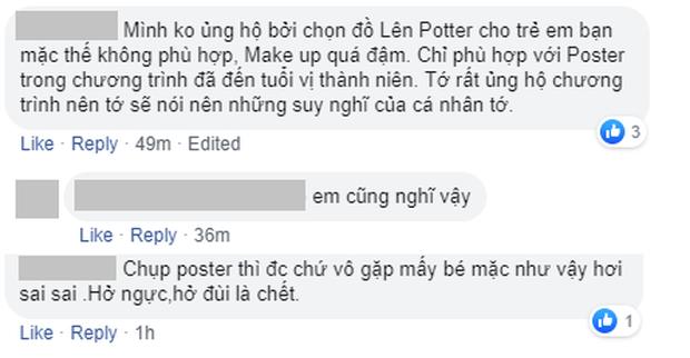 Tung poster hao hao The Face, dàn HLV show tìm kiếm mẫu nhí còn gây tranh cãi vì diện đồ gợi cảm - Ảnh 4.