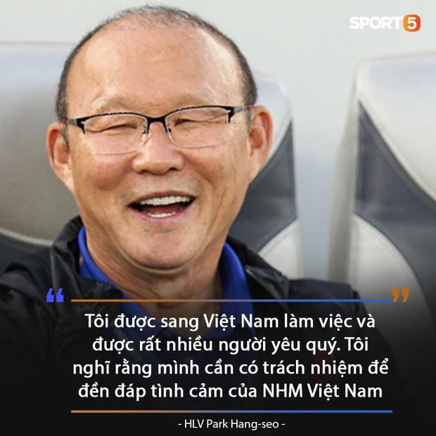 HLV Park Hang-seo nói lời khiến fan Việt ấm lòng giữa rừng tin đồn ra đi hay ở lại tuyển Việt Nam - Ảnh 1.