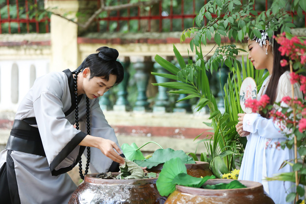 Nhân tình của Hari Won gia nhập CLB Độ Ta Không Độ Nàng, làm cao tăng nhưng chưa buồn cạo tóc - Ảnh 4.