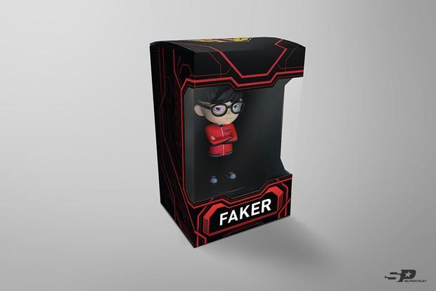 Tình địch So Ji Sub - Quỷ vương Faker trở thành ngôi sao LMHT đầu tiên được làm mẫu đồ chơi sưu tầm riêng - Ảnh 5.
