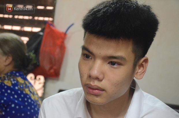 Con trai nữ lao công bị lái xe say rượu đâm tử vong được miễn phí nhập học THPT Lương Thế Vinh - Ảnh 1.