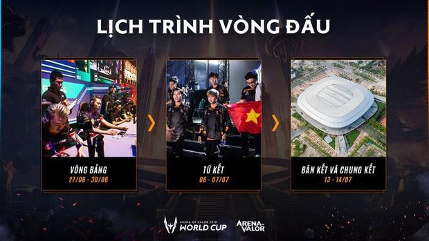 Nhà thi đấu, thể thức và mọi điều bạn cần biết về AWC 2019, giải đấu chung kết thế giới Liên Quân Mobile được tổ chức ở Việt Nam - Ảnh 2.