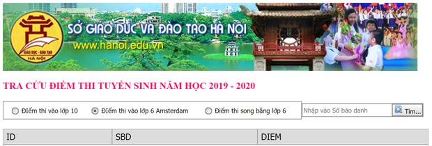 Trường THPT chuyên Hà Nội - Amsterdam công bố điểm thi vào lớp 6 - Ảnh 1.