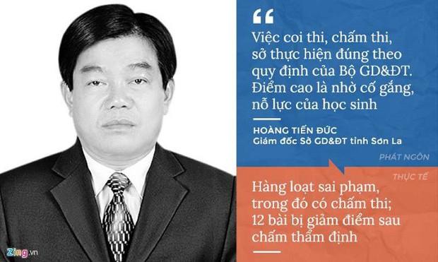 Cách hành xử của giám đốc Sở GD&ĐT Hà Giang, Sơn La giữa tâm bão gian lận thi cử - Ảnh 2.
