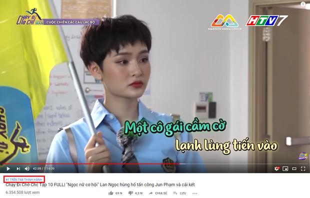 Có Hiền Hồ là khách mời nhạt nhất lịch sử nhưng tập 10 Running Man Việt vẫn lọt top 1 trending YouTube - Ảnh 1.