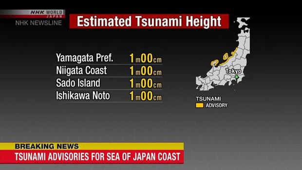 Động đất mạnh 6,8 độ ở Nhật Bản, cảnh báo nguy cơ sóng thần - Ảnh 2.
