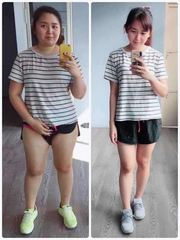 Giảm liền tù tì 30kg trong một năm, cô gái mũm mĩm hoá girl xinh khiến bạn bè không nhận ra - Ảnh 1.