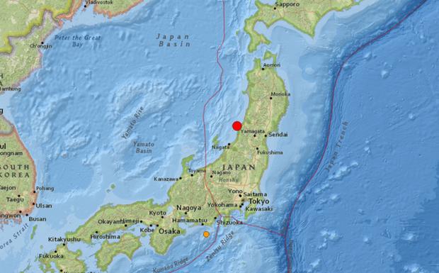 Động đất mạnh 6,8 độ ở Nhật Bản, cảnh báo nguy cơ sóng thần - Ảnh 1.
