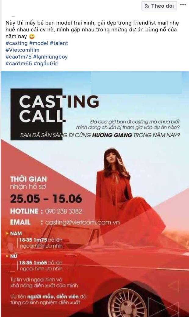 HOT: Hương Giang từ cựu hoa hậu, ca sĩ giờ đây đánh chiếm luôn lĩnh vực phim ảnh? - Ảnh 2.