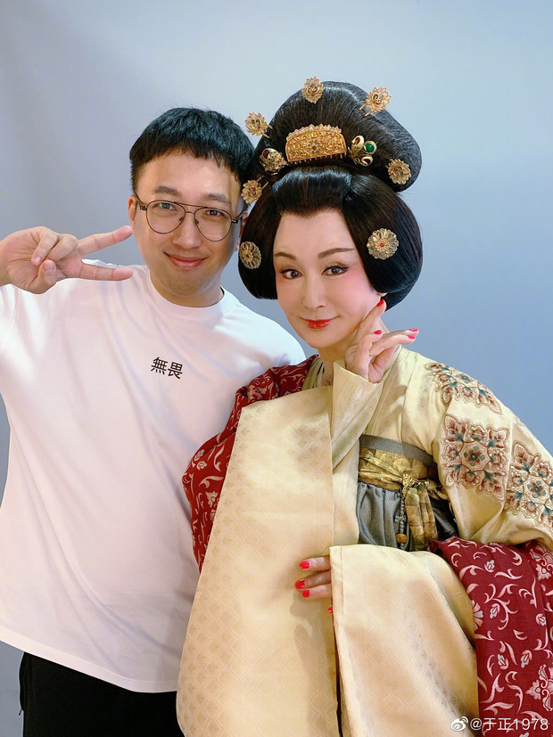 Vu Chính khoe người đẹp cổ trang trong phim mới Đại Đường Nữ Nhân Hành, ai ngờ mỹ nhân này đã... 70 tuổi - Ảnh 4.