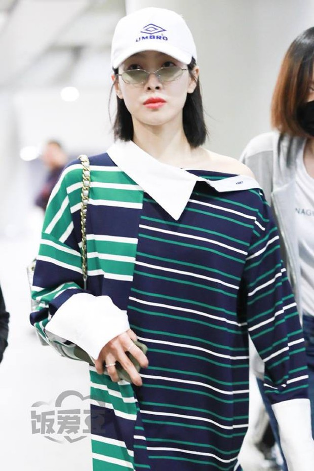 Cùng là váy hiệu 25 triệu mà Victoria Song như mặc đồ Taobao, Cổ Lực Na Trát lại đẳng cấp khác một trời một vực - Ảnh 1.