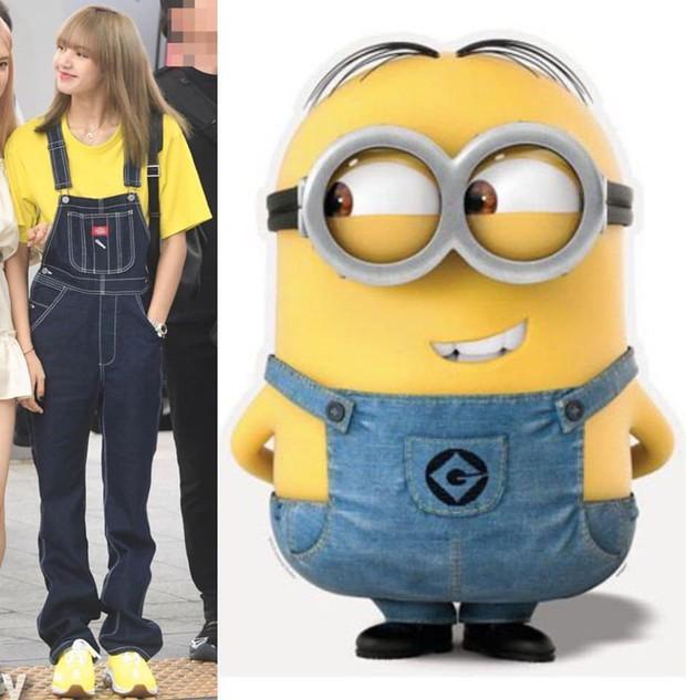 """Nếu không phải Lisa (Blackpink) thì idol nào mới có thể """"cân"""" được đống trang phục khó cảm nhường này? - Ảnh 2."""
