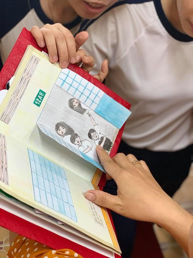 Làm nhật ký thủ công tặng cô giáo, học sinh Vĩnh Long khiến cộng đồng mạng trầm trồ trước độ khéo tay vô cực - Ảnh 3.