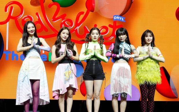 Red Velvet vượt BLACKPINK, là nhóm nữ Kpop đầu tiên đạt thành tích này ở Mỹ, đánh bại TWICE, IZ*ONE tại Hàn - Ảnh 3.