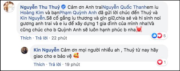 Thu Thủy vừa được bạn trai kém tuổi cầu hôn, vợ chồng Ưng Hoàng Phúc và Phạm Quỳnh Anh lập tức quay clip gửi lời nhắn nhủ đặc biệt - Ảnh 3.