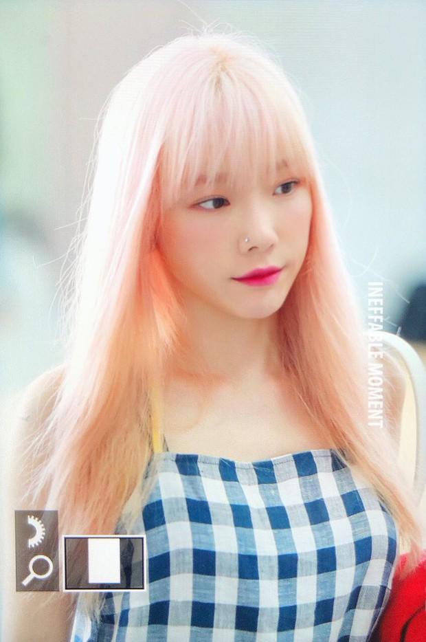 Taeyeon gây choáng với nhan sắc đỉnh đến mức lấn át cả nữ thần Suzy, Irene đẹp bất chấp bên Red Velvet tại sân bay - Ảnh 4.