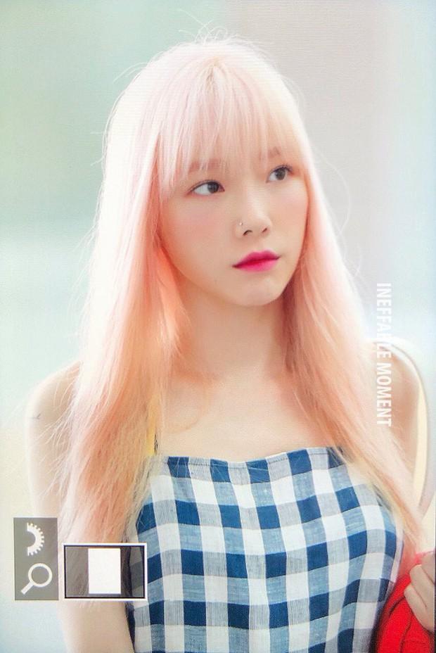 Taeyeon gây choáng với nhan sắc đỉnh đến mức lấn át cả nữ thần Suzy, Irene đẹp bất chấp bên Red Velvet tại sân bay - Ảnh 5.