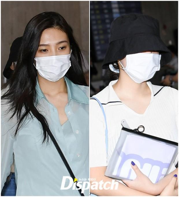 Taeyeon gây choáng với nhan sắc đỉnh đến mức lấn át cả nữ thần Suzy, Irene đẹp bất chấp bên Red Velvet tại sân bay - Ảnh 11.