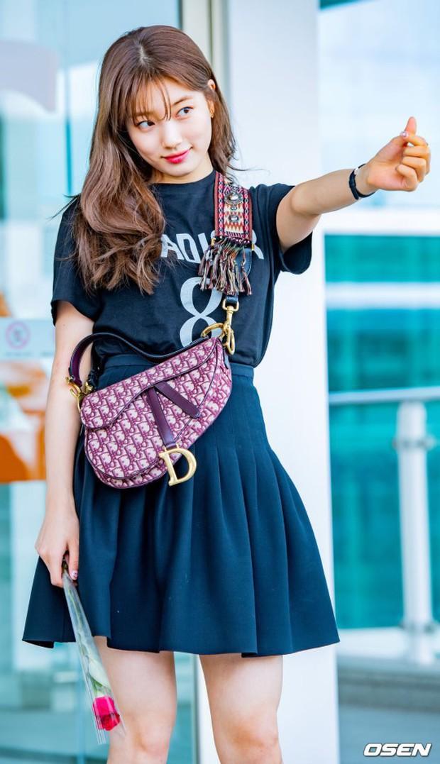 Taeyeon gây choáng với nhan sắc đỉnh đến mức lấn át cả nữ thần Suzy, Irene đẹp bất chấp bên Red Velvet tại sân bay - Ảnh 7.
