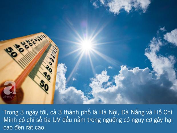 3 ngày tới nắng nóng cực điểm: Đây là những việc bạn cần làm ngay để tránh tia UV, bảo vệ làn da và sức khỏe - Ảnh 1.