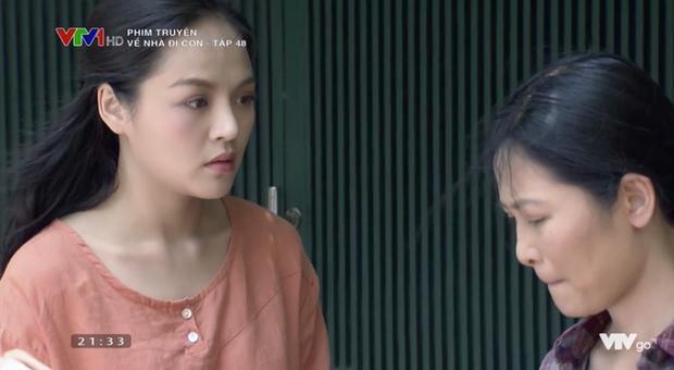 Không bỏ sỉ thính như cô Xuyến, tại sao Thư (Về Nhà Đi Con) vẫn nổi đóa khi thấy cô Hạnh bán hoa? - Ảnh 12.