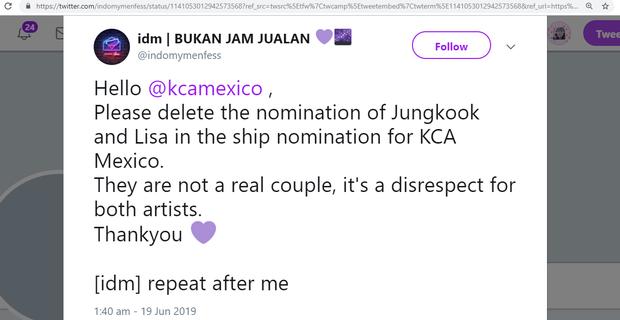 Trời ơi tin nổi không: Cặp đôi Jungkook (BTS) và Lisa (BLACKPINK) được đề cử trong lễ trao giải quốc tế dù chưa hẹn hò - Ảnh 4.
