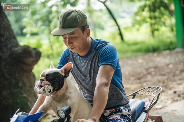 Đây là gia tài siêu to khổng lồ của Ủn - Chú chó thích đi nhặt ve chai ở Hà Nội - Ảnh 8.