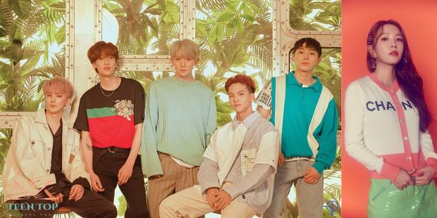 Kpop tháng 6: Thêm cặp đấu giữa YG – JYP sau TWICE và BLACKPINK nhưng huyền thoại SM mới là trùm cuối - Ảnh 3.