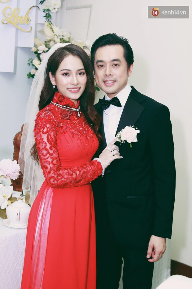 Ngọc Duyên - bà xã Dương Khắc Linh lộ vòng hai lớn bất thường trong lễ rước dâu - Ảnh 4.