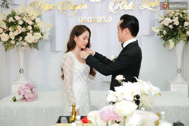 Ngọc Duyên - bà xã Dương Khắc Linh lộ vòng hai lớn bất thường trong lễ rước dâu - Ảnh 3.